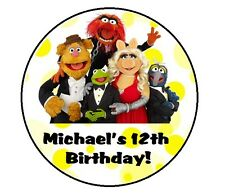 MUPPETS PERSONALIZED BIRTHDAY THANK YOU FOR COMING TO MY PARTY STICKERS FAVORS