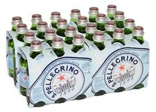 S.Pellegrino - Sparkling Natural Mineral Water - Case of 24 Glass Bottle