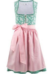 Traumhaftes Bayerisches  Dirndl Kleid mit Satinschürze Gr.50 NEU  908565