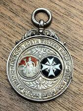More details for vintage lnwr railway st johns ambulance silver medal - r roberts 12 exams