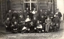 Downend, Bristol. Cleve Hill Military Hospital by Hamilton. British & Belgians.