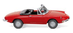 WIKING 020601 Automobile Alfa Romeo Spider Duetto 1966 Red - 1/87