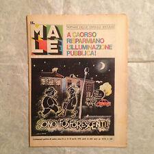IL MALE SETTIMANALE POLITICO DI SATIRA N.15 APRILE 1979