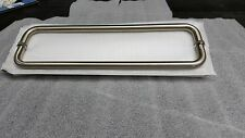 """BACK TO BACK BRUSHED NICKEL 18"""" or 24"""" EURO TOWEL BAR DOUBLE SIDED"""
