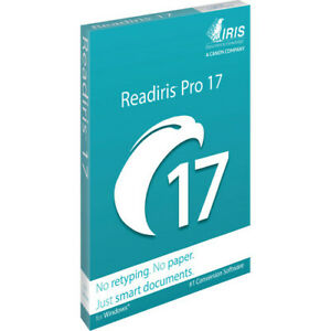 Readiris Pro 17 for Windows DVD - OCR Software and Document Management PDF