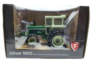 Oliver 1800 Tractor Cab & FWA w/ Rear Duals Firestone Tires Series SpecCast 1/16