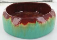 .1938 AUSTRALIAN POTTERY. VERY LARGE FLOAT BOWL. DETAILS TO BASE.