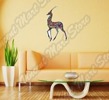 """Antelope Abstract Art Design Colorful Wall Sticker Room Interior Decor 18""""X25"""