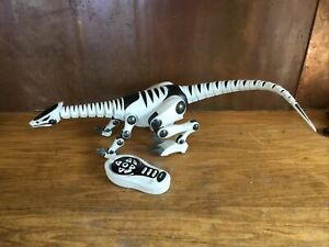 """WowWee Toys Roboreptile Dinosaur 28"""" Sounds & Motion W/ Remote Works!!!"""