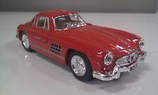 1954 Mercedes-Benz 300SL Rosso Kinsmart Modello Giocattolo 1/36 Scala