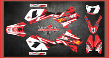 Suzuki DRZ400 DRZ 400 SUPERMOTO  SEMI CUSTOM GRAPHICS KIT BLACK PAVI2
