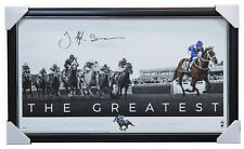 "Winx Signed Hugh Bowman ""The Greatest"" Official Print Framed + COA IN STOCK NOW"
