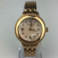 Liz Claiborne Womens LC1316 Japan Movement Stainless Steel Watch Rose Gold Tone
