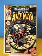 Marvel Premiere #47 1st Scott Lange as Ant Man, 1st Cassie Lang Marvel 1979