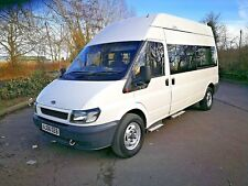 2006 FORD TRANSIT 350 2.4L 115PS LWB HIGH ROOF WHEELCHAIR MINIBUS - NO RESERVE