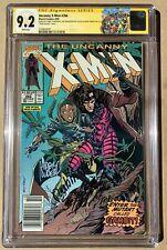 Uncanny X-Men #266 | 1st Gambit | CGC 9.2 WP Mark Jewelers - Triple Signed!