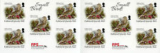 Falkland Islands 2017 MNH Small Birds Local Rate Pipit 10v S/A Booklet Stamps