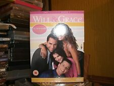 Will And Grace - Season 3 (DVD, 2006, Box Set) 6 DISCS