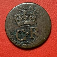 #1947 - Ecosse SCOTLAND 2 pence Charles Ier - FACTURE