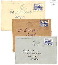 Lb25 1944 GB ww2 JERSEY ISOLE DEL CANALE JERSEY paesaggi macchina copre PTS