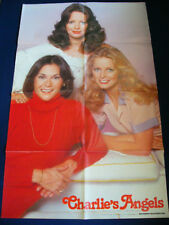 CHARLIE'S ANGELS Kate Jackson Jaclyn Smith Cheryl Ladd / Sylvester Stallone POST