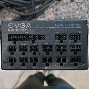 EVGA SuperNOVA 1200 P2 1200W 80 Plus Platinum Power Supply - Black