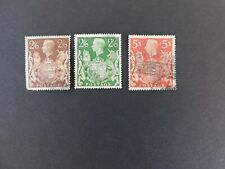 Great Britain #249, 249a, 250, King George Vi, 1939, Used/Fine, Light cancels