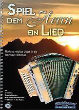 Steirische Harmonika Noten : Spiel dem Herrn ein Lied m CD - Kirche GRIFFSCHRIFT