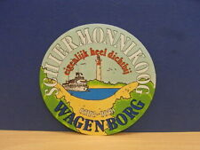 1x Sticker - decal Schiermonnikoog Wagenborg with org.back 80's (02238)