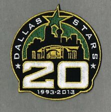DALLAS STARS 20th ANNIVERSARY 2013/14 NHL JERSEY PATCH