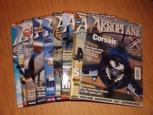 F300: Aeroplane Monthly Magazine Year 2002 - 9 Magazines