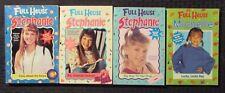 1990s FULL HOUSE Stephanie & Michelle Paperback LOT of 4 FN-/FN+ 1st Minstrel