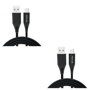 6ft and 10ft USB Cable Charger Power Cord Type-C Sync Wires for USB-C Phones