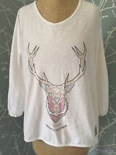 Picture Organic Clothing Top/t Shirt Ladies Size Xs Slouch Oversized