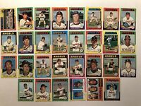 1975 Topps CALIFORNIA ANGELS Complete Set NOLAN RYAN 4 diff Ryan Cards TANANA