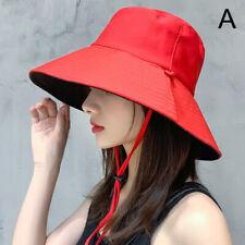 As Mulheres Aba Larga anti-UV Protetor Solar Sol De Verão Chapéus Chapéu Viseira Ao Ar Livre