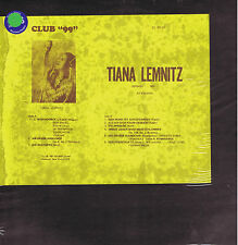 TIANA LEMNITZ soprano - LP CLUB 99 cl 99-24 sealed SIGILLATO