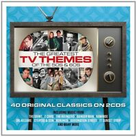 GREATEST TV THEMES OF THE 50'S AND 60'S 2 CD NEW!