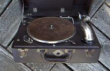 Vintage Portable Victrola Record Player
