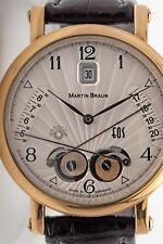Rare $42,000 EOS Martin Braun ASTROLOGY 42mm Mens COMPLICATION Watch WOW!!