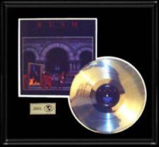 RUSH MOVING PICTURES GOLD RECORD RARE PLATINUM DISC ALBUM LP RARE!