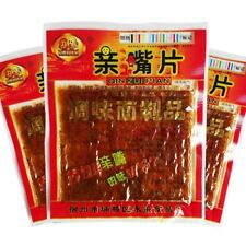 25g Chinese China Snack Specialty Spicy Food Gluten 长勇娃娃乐 亲嘴片 麻辣条 辣片 面筋
