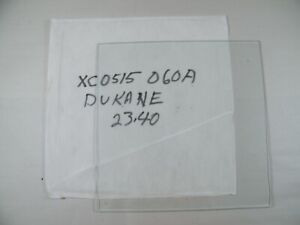 """DUKANE PROJECTOR GLASS XC0515060A 11 3/4"""" X 11 3/4"""""""