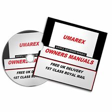 UMAREX AIRGUN AIR RIFLE GUN OWNERS MANUAL  USER  MANUALS BOOKS Disc  #Airrifle