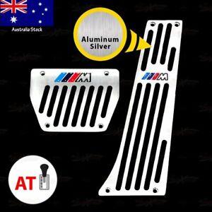 AUTOMATIC Gas Brake Pedal for BMW E30 E39 E53 F39 G01 G02 G05 G07 G20 G32 SILVER
