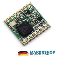 RFM95W 868MHz LoRa Wireless HopeRF Remote Modul Arduino Raspberry Pi