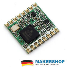 RFM95W 868MHz LoRa Wireless HopeRF Remote Modul Arduino Raspberry Pi