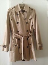 Burberry Brit Classic Trench Coat ~ Detachable Lining & Hood ~ Sz. 2