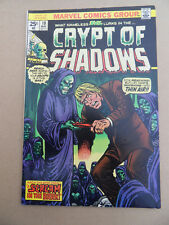 Crypt Of Shadows  10 . Marvel 1974 . VF - minus
