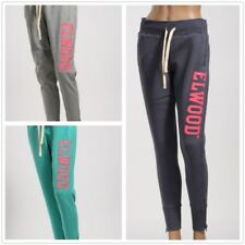 On Sale Elwood Womens Trackie Sweat Pant Gym Running Cuff Track Pants Size XS-L